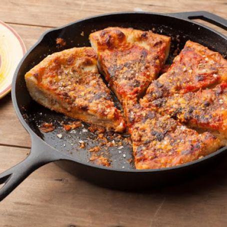 Chicago Style Deep Dish Pizza By Emeril Lagasse Recipe 4 5 5