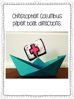 Happy Christopher Columbus Day Craftivity And Activities Christopher Columbus Columbus Columbus Day
