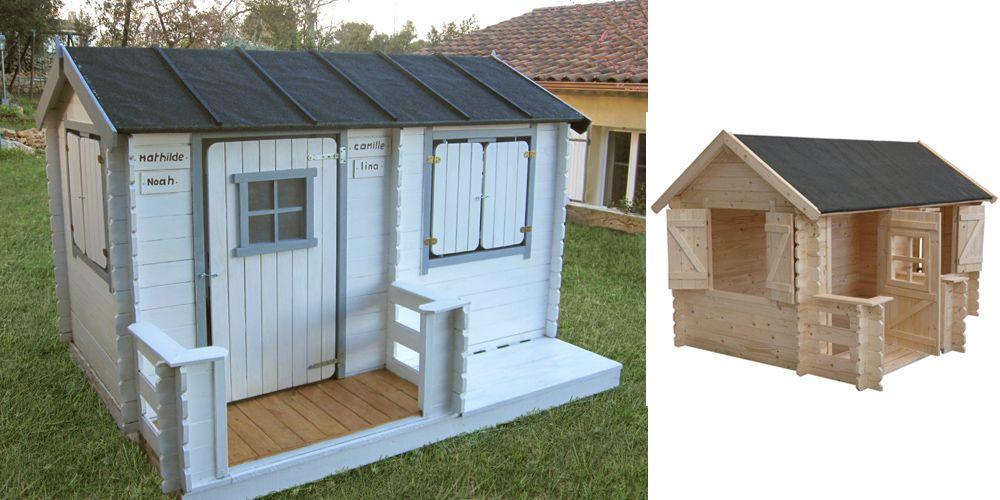 maisonnette bois camille oogarden les maisonnettes en bois pour enfant pinterest. Black Bedroom Furniture Sets. Home Design Ideas