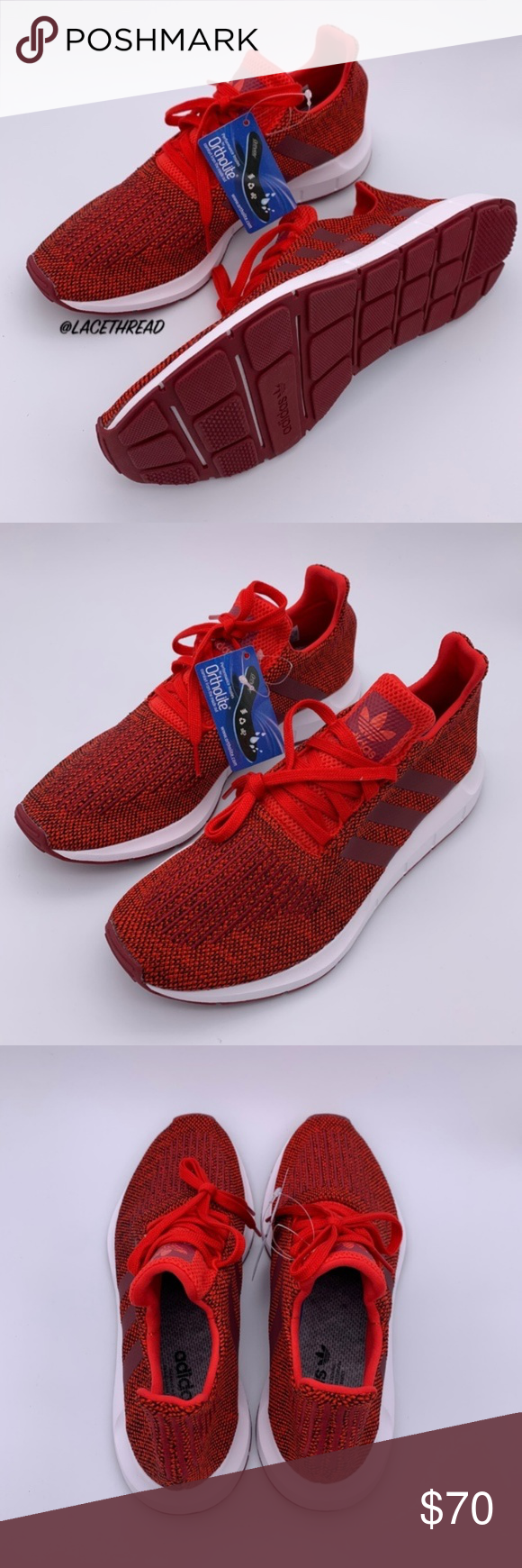 6a98131b90896 Men s Swift Run Running Shoes Collegiate CG4117 Brand  adidas Condition   NEW WITHOUT BOX Color
