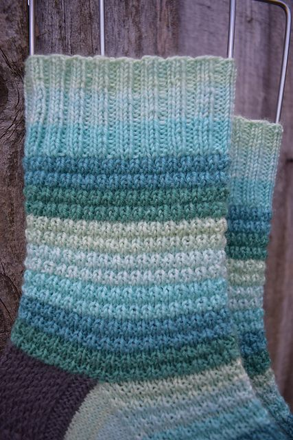 Speed Bumps pattern by All Knit Up Designs