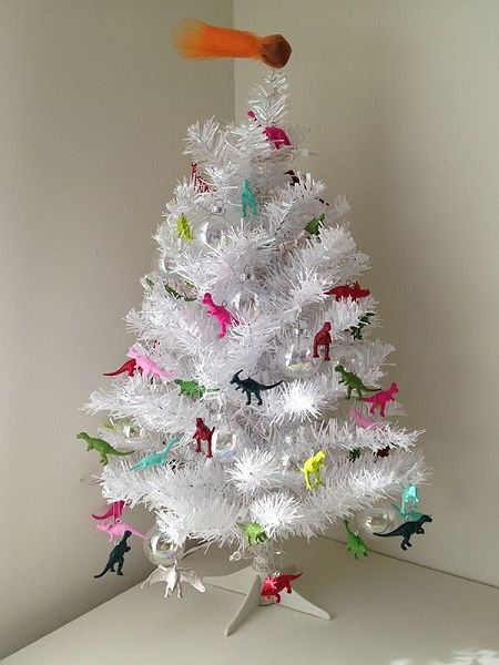 dinosaur christmas tree - Dinosaur Christmas Decorations