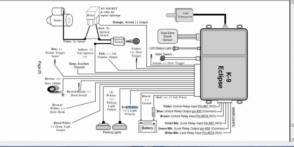 17 car alarm installation wiring diagram  car diagram