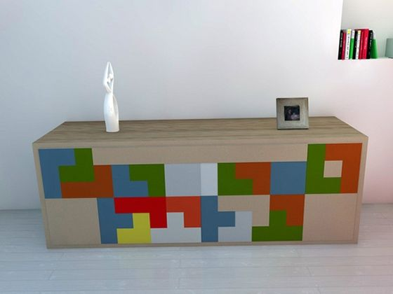 Tetris Furniture From Pedro Machado  Http://www.behance.net/masteroftheuniverse Awesome Design