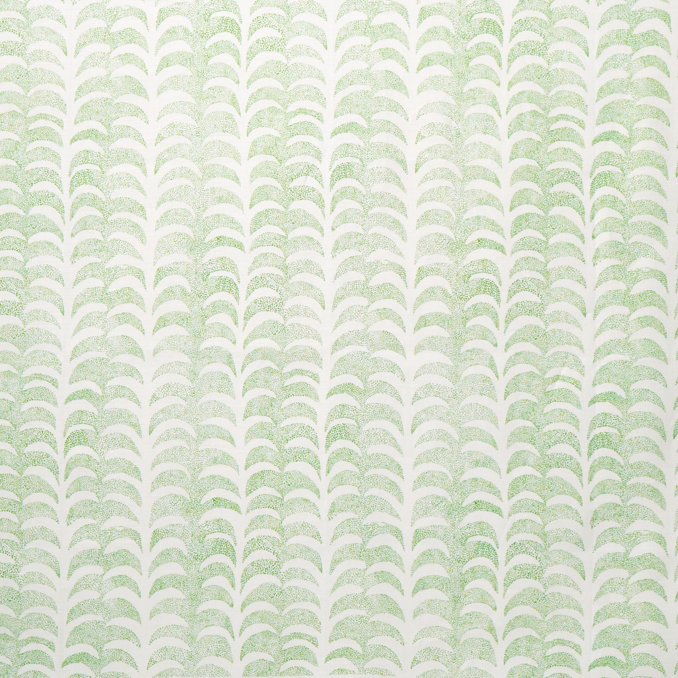 Dotted Palm Fabric in Leaf in 2020 Screen printed fabric