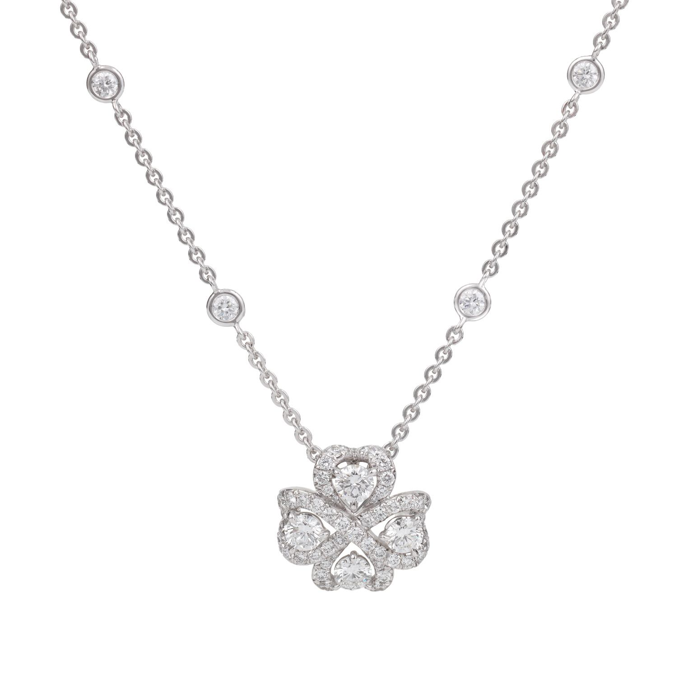 Fabergé Quadrille Diamond Pendant Fabergé diamond pendant
