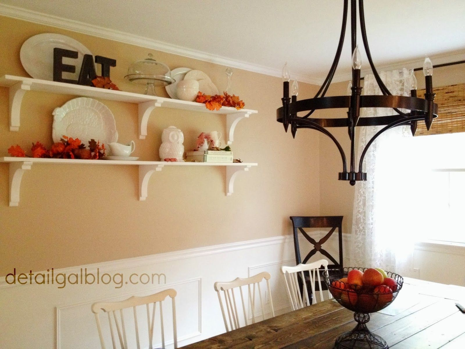 Dining Room Wall Shelves  Diy Shelves For $100  Dining Room Adorable Shelves Dining Room Design Inspiration
