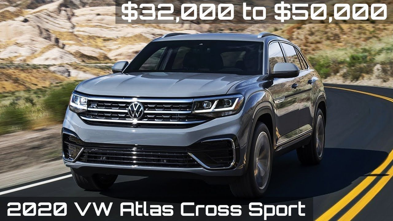 2020 Vw Atlas Cross Sport Driving Interior Exterior Sports Exterior Car