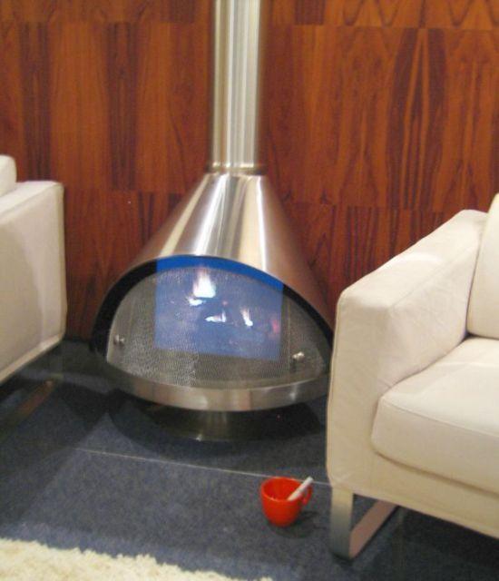 RETRO Mid Century Modern WHITE JUPITER Electric Preway Cone ...