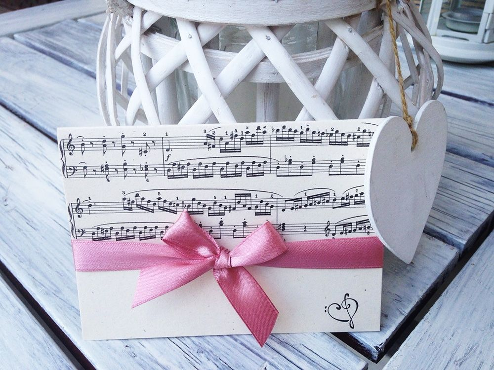 Partecipazioni Con Spartito Musicale Matrimoni A Tema Musica Matrimoni A Tema Matrimonio