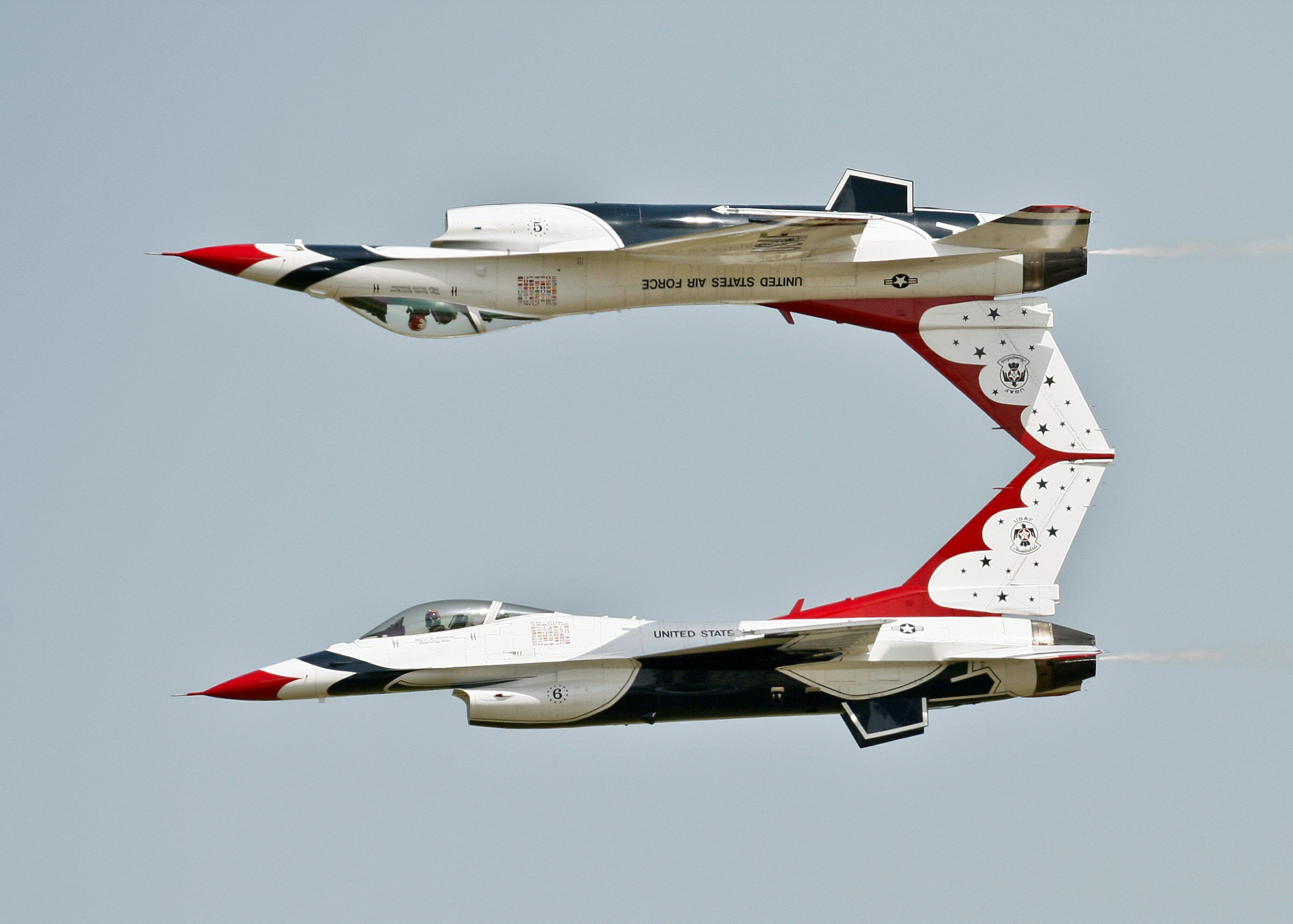 Air Force Thunderbirds too male, too white, top general warns: The Air Force's vaunted Thunderbirds jet fighter aerobatics team is not diverse enough...