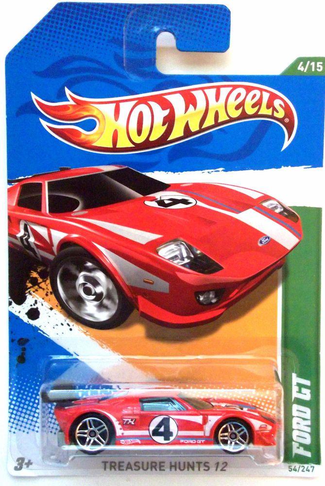 2012 Hot Wheels Treasure Hunts Ford Gt 4 15 Hot Wheels Toys Hot Wheels Treasure Hunt Hot Wheels
