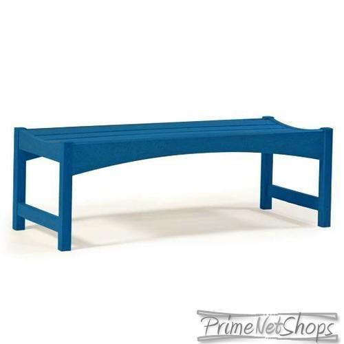 Breezesta Skyline 60 Backless Bench Blueberry Breezesta Garden Furniture Sets Garden Patio Furniture Poly Outdoor Furniture