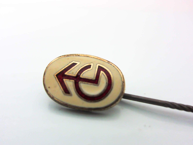 Vintage Stick Pin Lapel Pin Enamel Pin Stick Pin T V Etsy Stick Pins Lapel Pins Enamel Pins