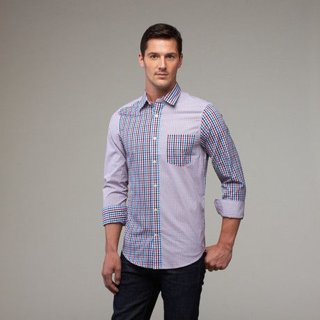 Check out Carter wearing our Checked Out collared shirt! See more at         www.611lifestyle.com