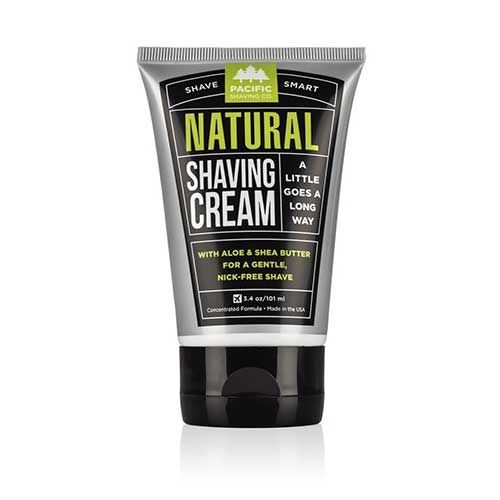 BEST SHAVING CREAMS FOR MEN: Pacific Shaving Company Natural Shaving Cream,  Best
