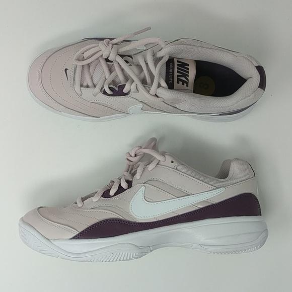 Nike Court Lite Womens Purple Tennis Trainers 845048 651 New In 2019 Ladies Golf Clubs Tennis Trainer Golf Clubs