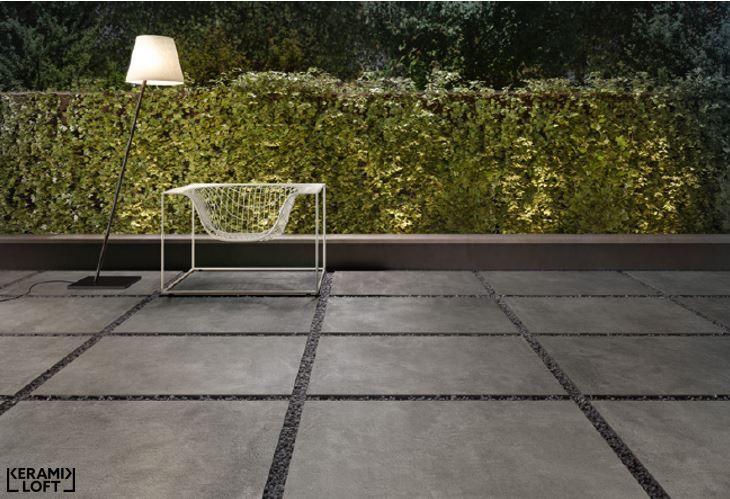 Neue Serie Von Sant Agostino Set Dark Im Außenbereich Erhältlich - Fliesen 60x90