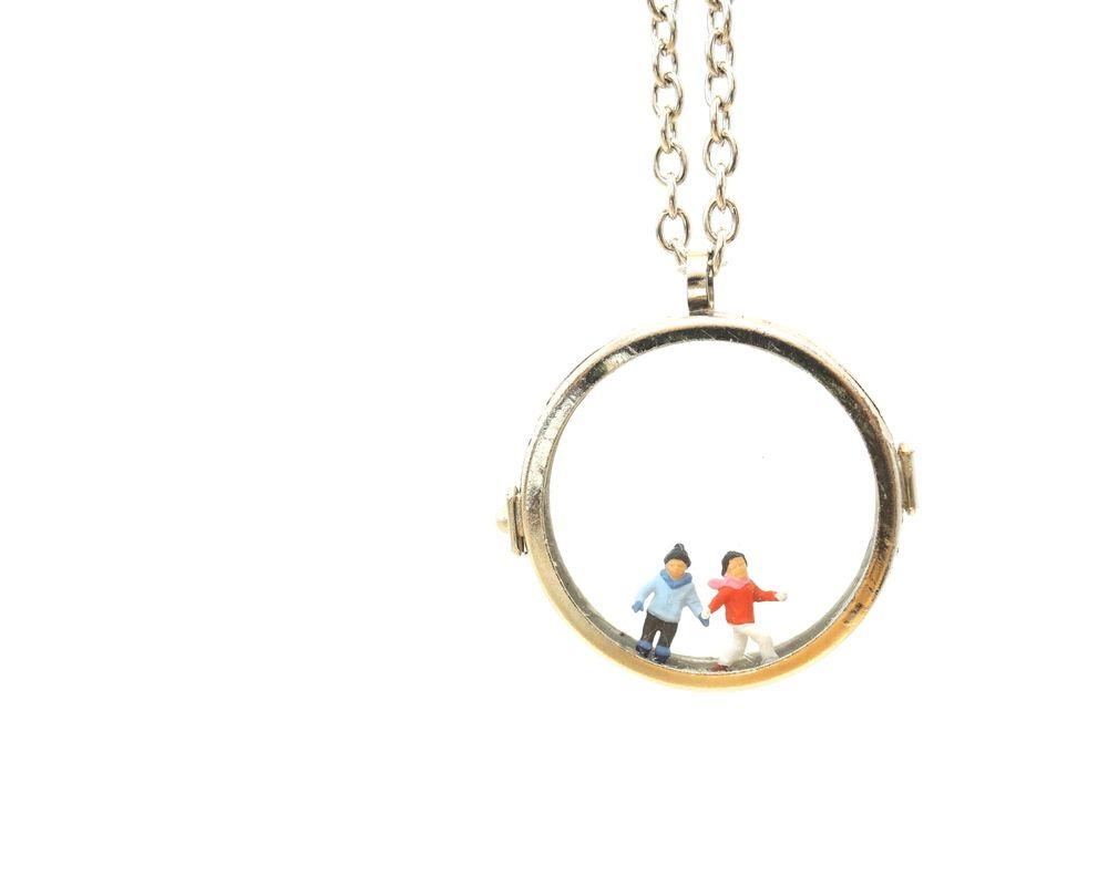 Unique One Of A Kind Natchie Art 3D Pendant.The circle is ...