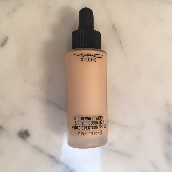 MAC Studio Waterweight Foundation NW15 Gently Used. 80% left in bottle MAC Cosmetics Makeup Foundation