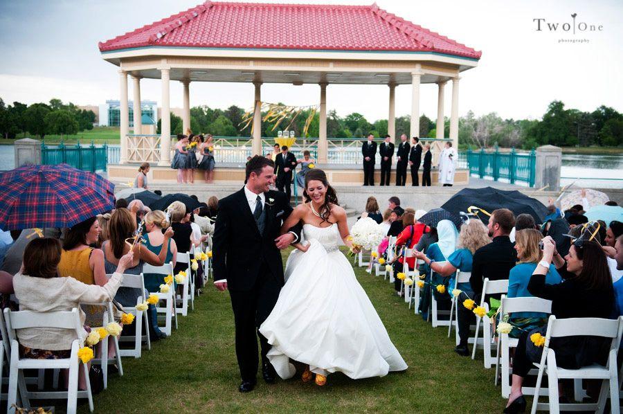 City Park Boat Pavilion Denver Co Wedding