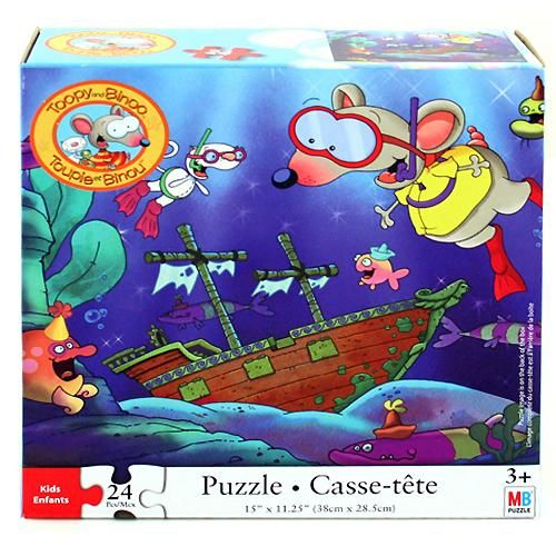 Toopy and Binoo 24 Piece Puzzle [Boat]$7.99 | Toopy and Binoo ...