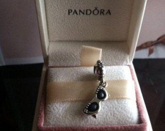 c44857957 Authentic Pandora Charm Sunshine Diva Dangle Sunglasses Glasses Charm For  Bracelet with box