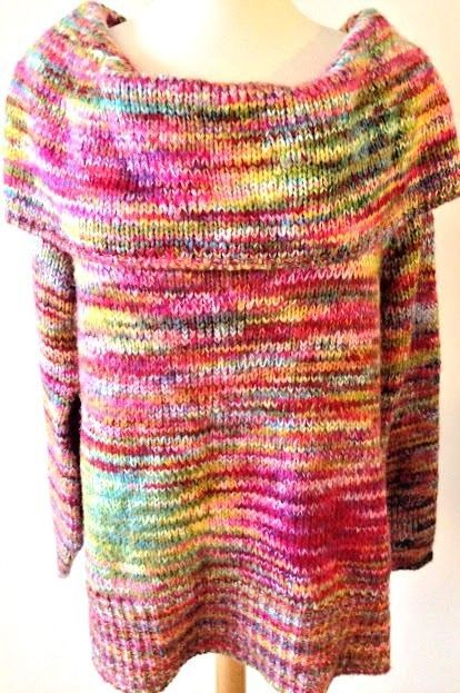 20549cca7d9 Lane Bryant Sweater Plus Size 22 24 Cowl Neck Rainbow Acrylic Chunky  Cableknit  LaneBryant  CowlNeck  Rainbow  PlusSize