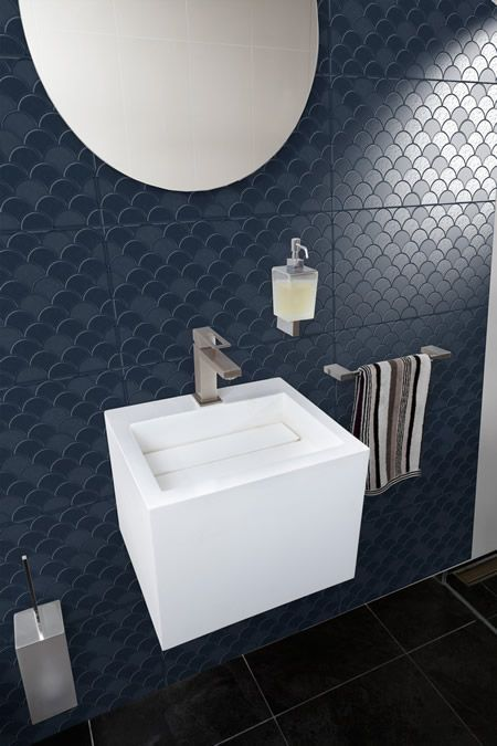 C806 08 bathroom splashback tile Feature Tiles Pinterest