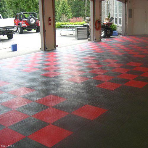 Racedeck Xl Garage Floor Tile 18l X 18w In 20 Ct