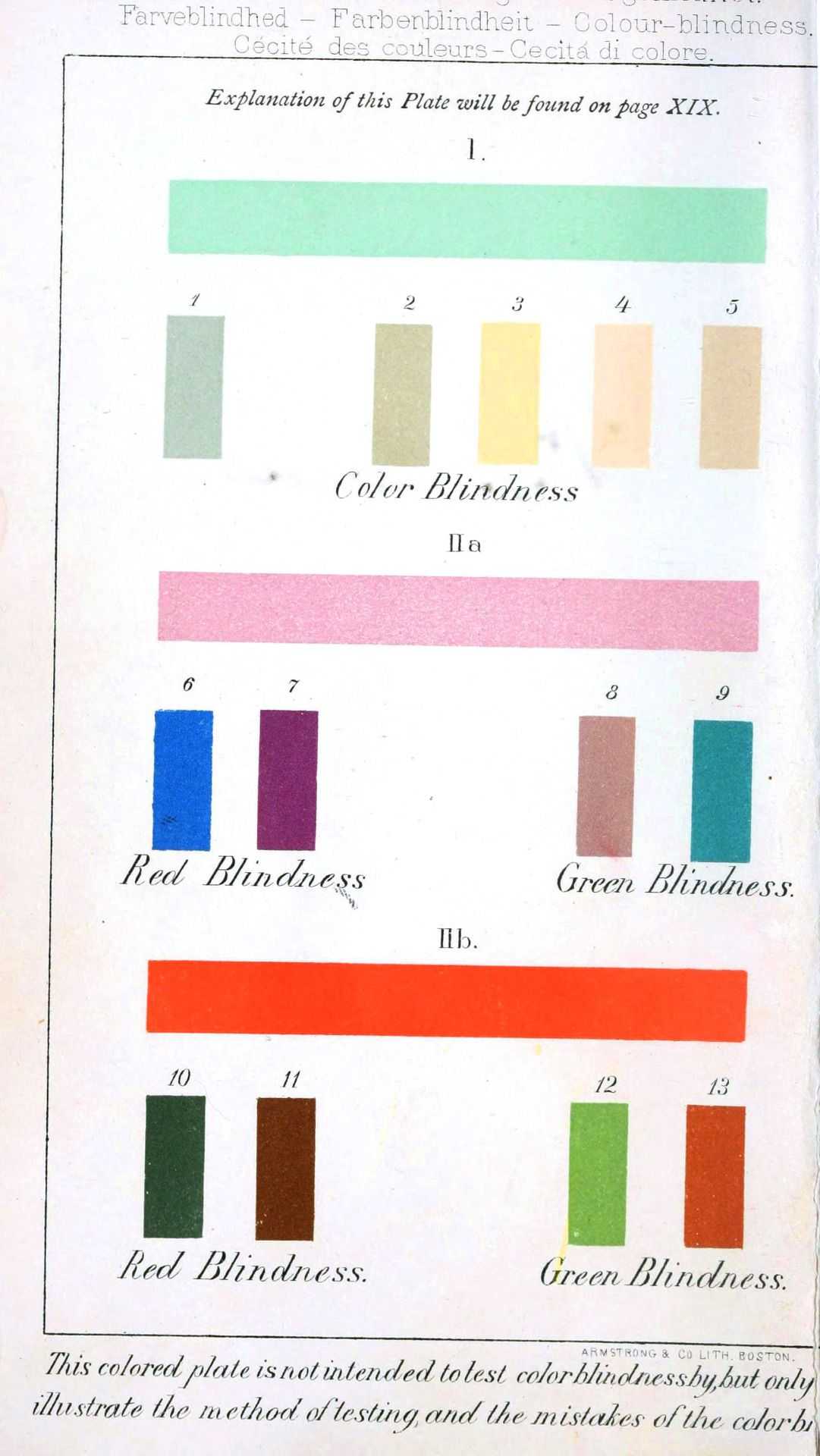 liverodland:  Tune in to that vivid painting: A turn of the century color blindness test.