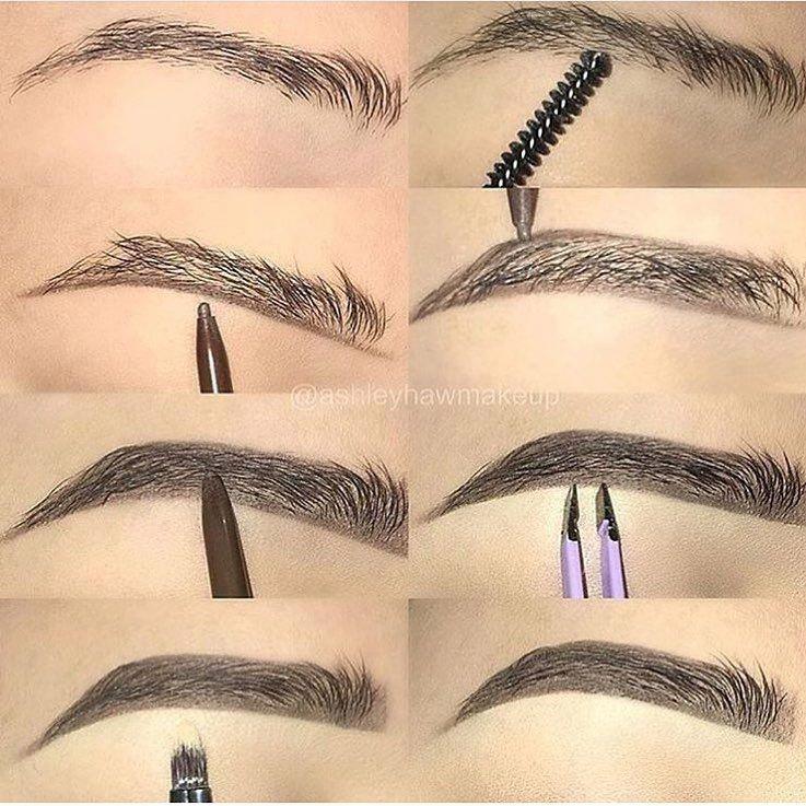 Eyebrows Tutorial Eyeshadows Eyebrows In 2019 Makeup Eyebrow