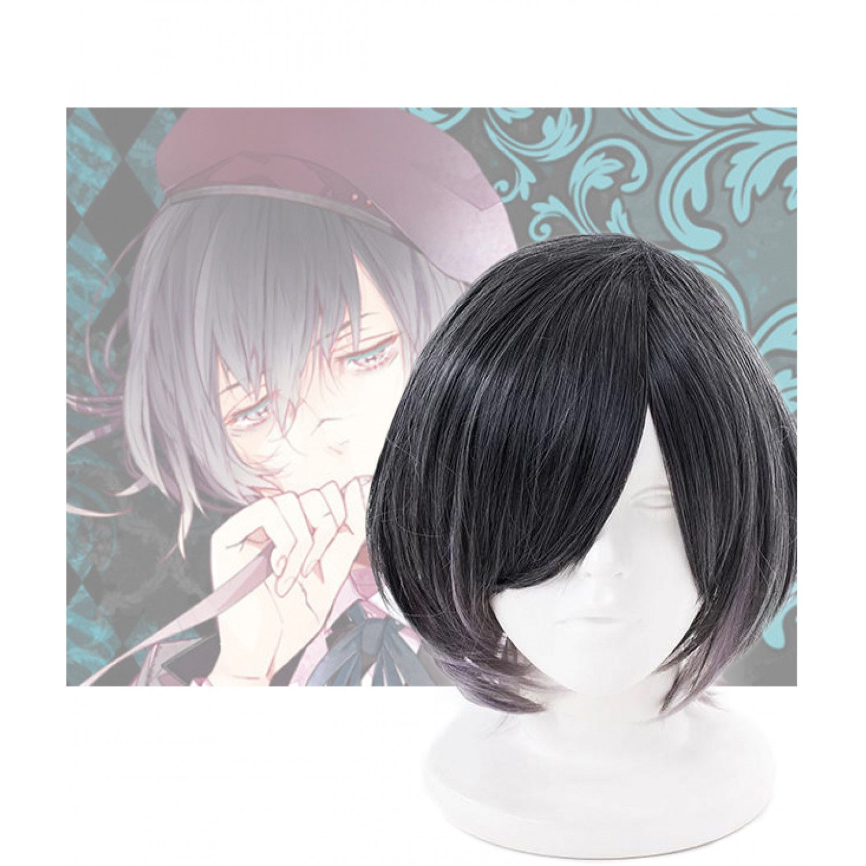 New DIABOLIK LOVERS Mukami Ruki Anime Cosplay wig Party wig free wig cap