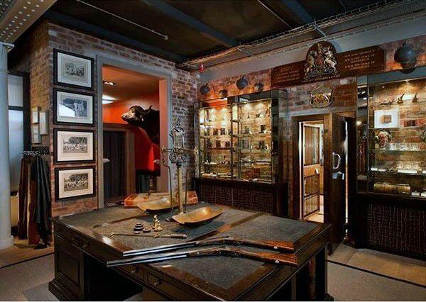 incredible-gun-room-shop-design-traditional-decor | Gun ...