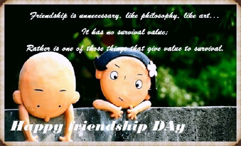 Friendship Day Best Funny Quotes With Cute Wallpaper Friendship Day Quotes Fun Quotes Funny Best Quotes