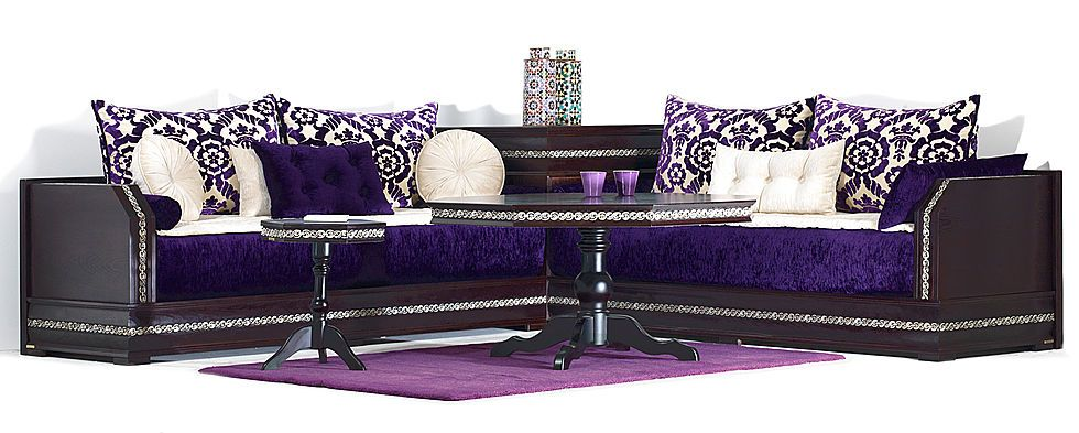 Salon marocain Richbond | Moroccan Tea Sets and Deco etc | Drawing ...