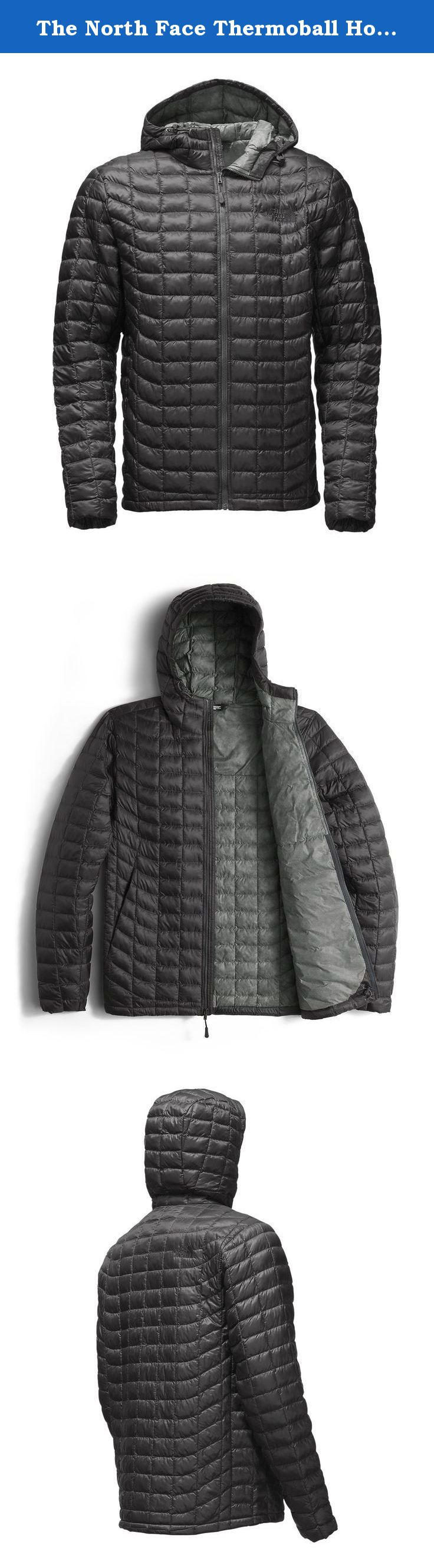 8bc271c83 The North Face Thermoball Hoodie Jacket - Men's Asphalt Grey/Fusebox ...