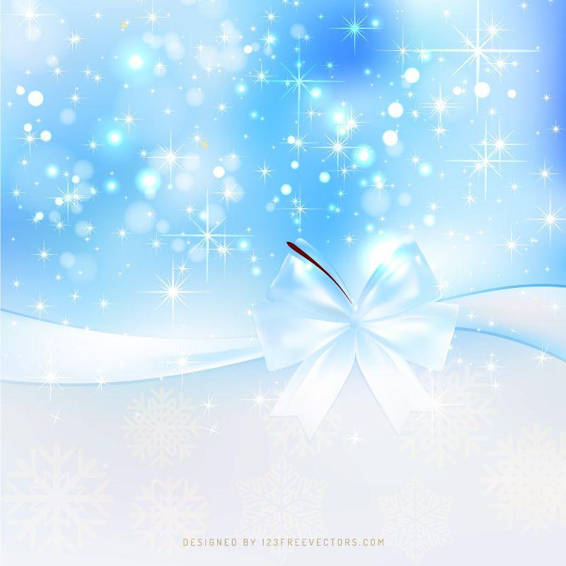 Light Blue Christmas Bow Background Blue Christmas Christmas Background Vector Christmas Background Blue christmas background design hd