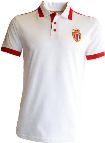 6e597fa76 AS MONACO Polo Club ASM – AS Monaco – Official Collection Football Ligue 1  – Mens