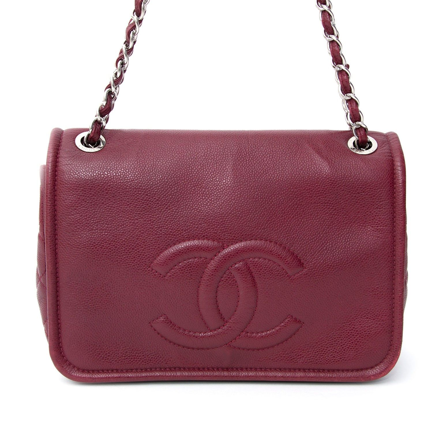 3ae56efa24ee Chanel Red Caviar Timeless CC Flap | We LOV Chanel | Chanel, Caviar, Red