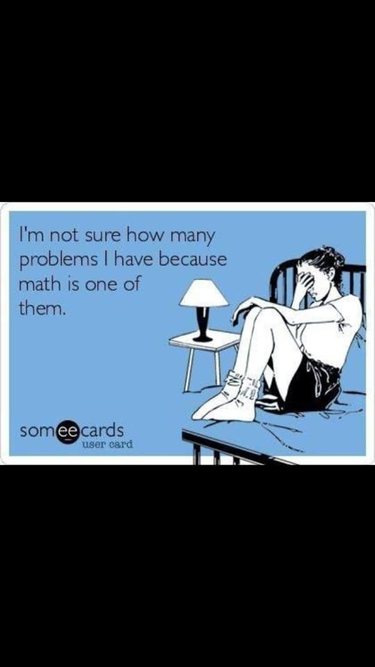 Math jokes are always funny, right?