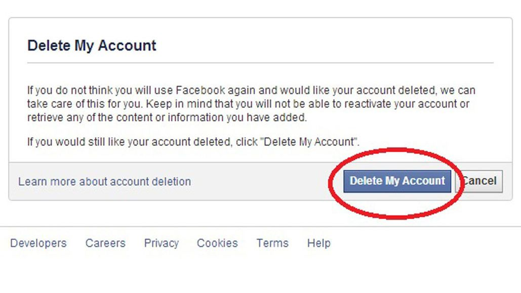 How to completely delete facebook from your life step guide and how to completely delete facebook from your life ccuart Choice Image