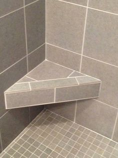 corner bench in shower - Google Search | Bathroom Ideas ...