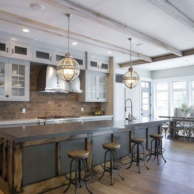 55 amazing farmhouse kitchen backsplash decor ideas farmhouse kitchen decor farmhouse style on farmhouse kitchen backsplash id=91624
