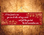 $14.95 Best Friend Wall Plaque, Inspirational Quotes, Life Quote
