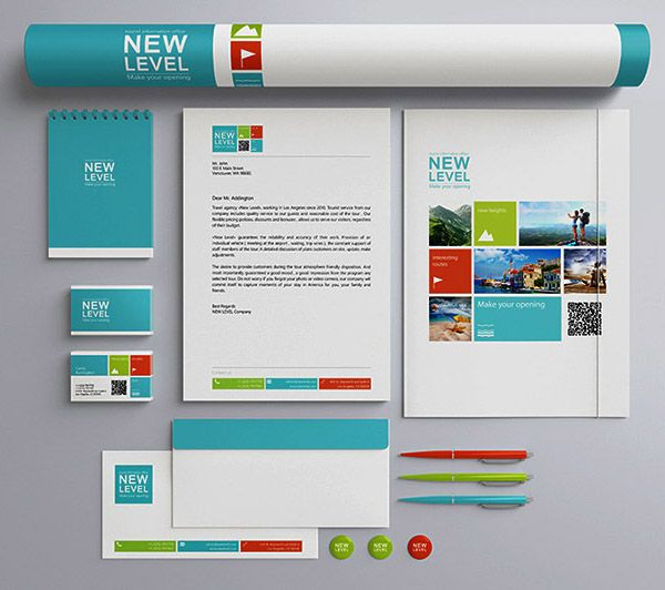 Stationery Presentation Mock-up Template FREE PSD   VECTOR - business presentation template
