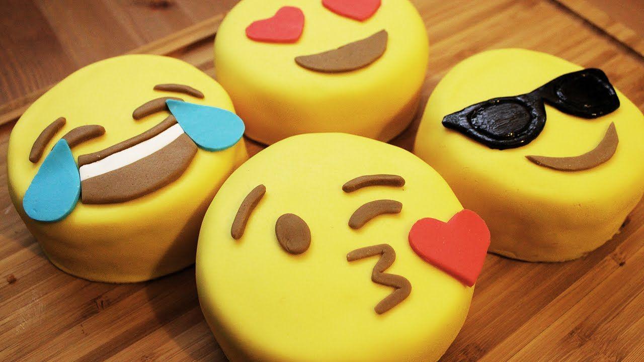 Wie Macht Man Emoji Mini Kuchen Theme Cakes Pinterest Kuchen
