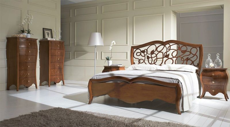Letto struttura in legno My Classic Dream letto cod. 691