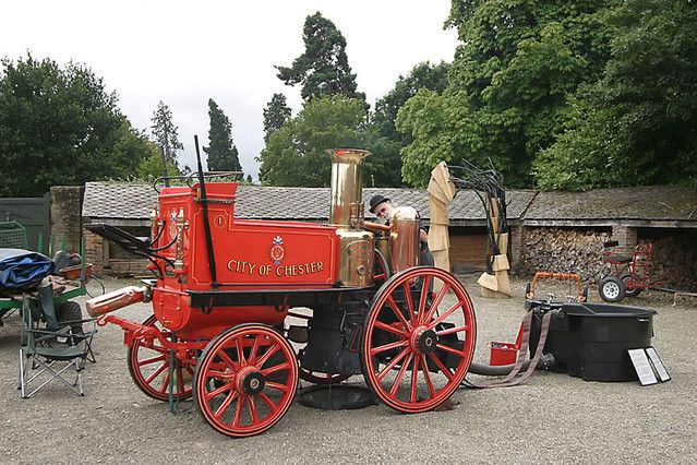 Old Fire Engines Old Fire Engine Photo Picture Image Erddig Historic Buildings Fire Engine Fire Rescue Vehicles