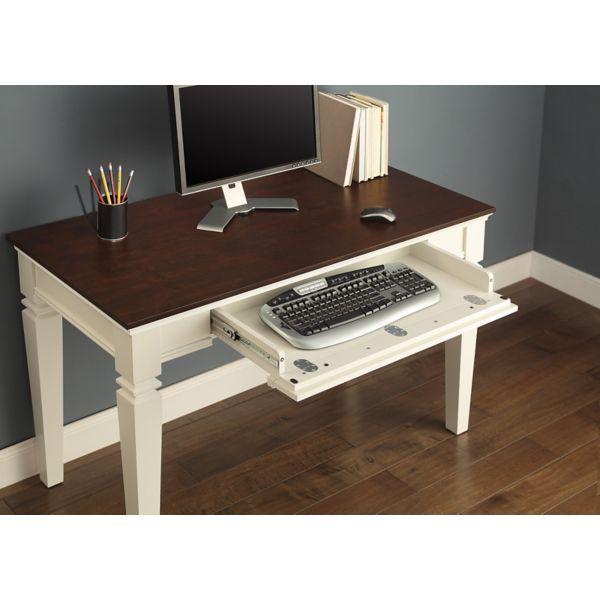 Raine Computer Desk At Staples Desk With Keyboard Tray Large Computer Desk Desk